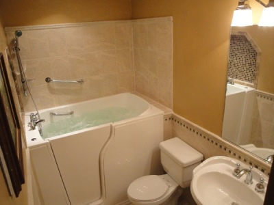 Independent Home Products, LLC installs hydrotherapy walk in tubs in Lone Tree