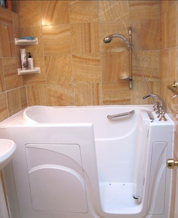 Celebrity Walk in Tub Installation in Denver